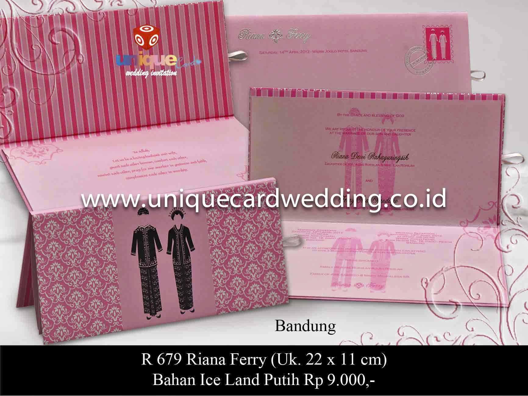 Murah desain undangan pernikahan unik percetakan undangan murah