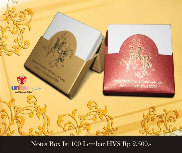 souvenir notes
