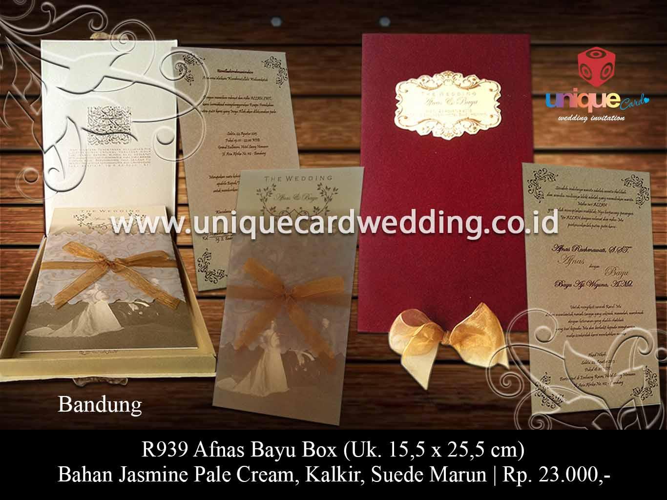 Undangan Pernikahan Termahal Di Dunia Unique Card Wedding