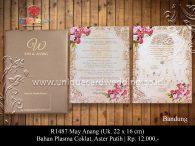 undangan pernikahan may - anang