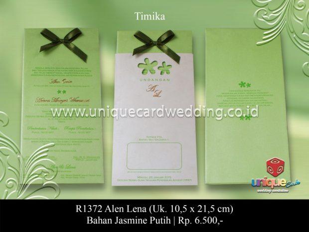 kartu undangan menengah