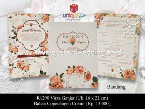 Undangan Pernikahan Virza Ganjar